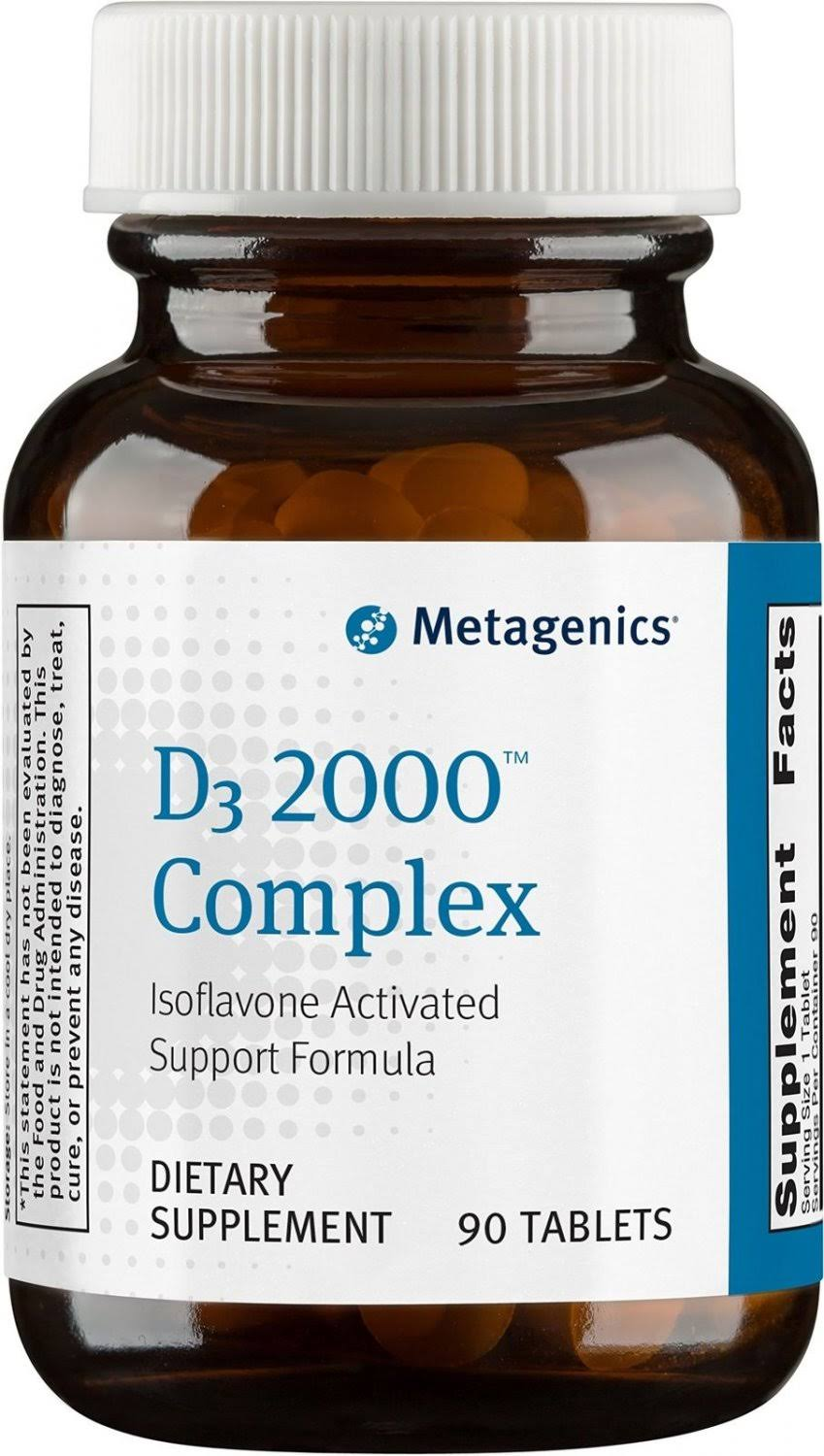 Metagenics D3 2000 Complex - 90 Tablets