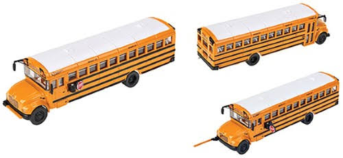 Walthers Scene Master 94911701 HO Scale Diecast CE School Bus