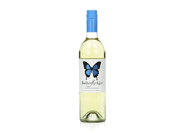 Butterfly Kiss Pinot Grigio, California, 2011 - 750 ml