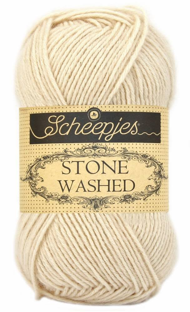 Scheepjes Stone Washed Yarn - 821 Pink Quartzite