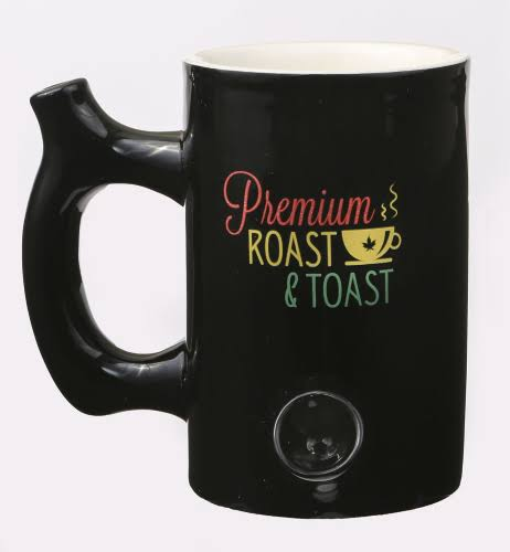 Premium Roast and Toast Ceramic *Rasta* Pipe Mug