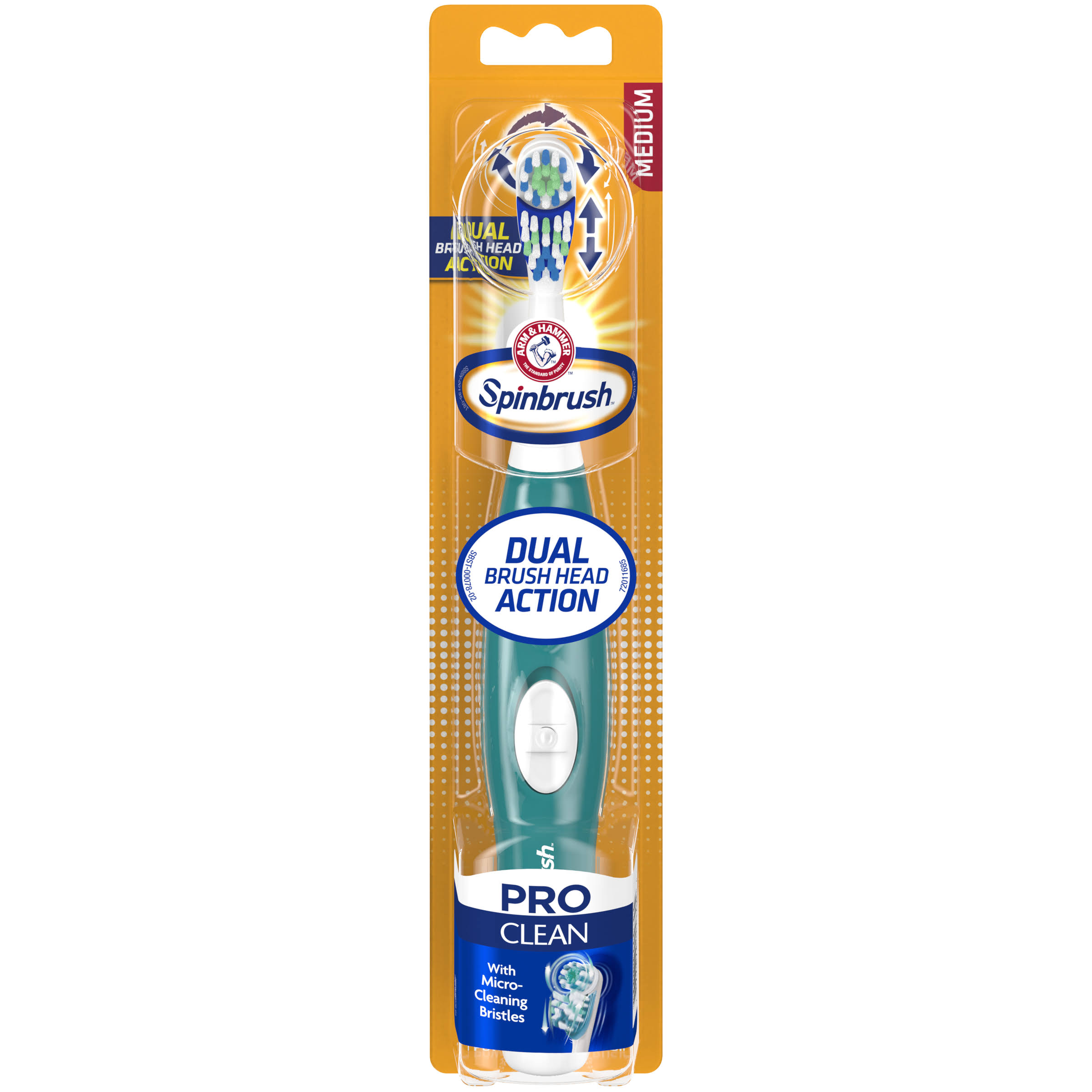 Arm & Hammer Spinbrush Pro Series Daily Clean Toothbrush - Medium