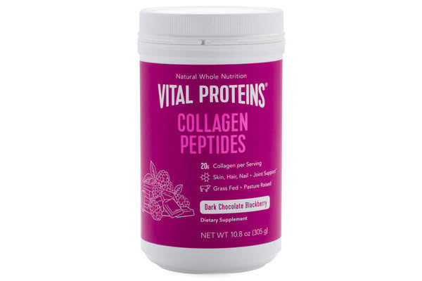 Vital Proteins Dark Choco & Blackberry Collagen Peptides - 10.8 oz canister