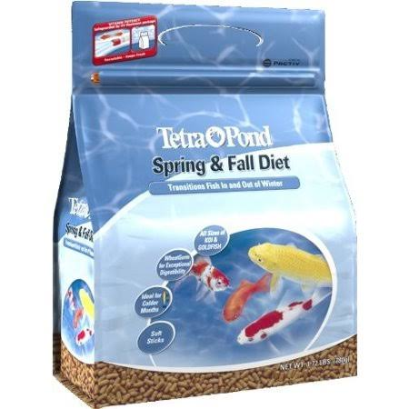 TetraPond Spring & Fall Diet Fish Food - 1.72lb