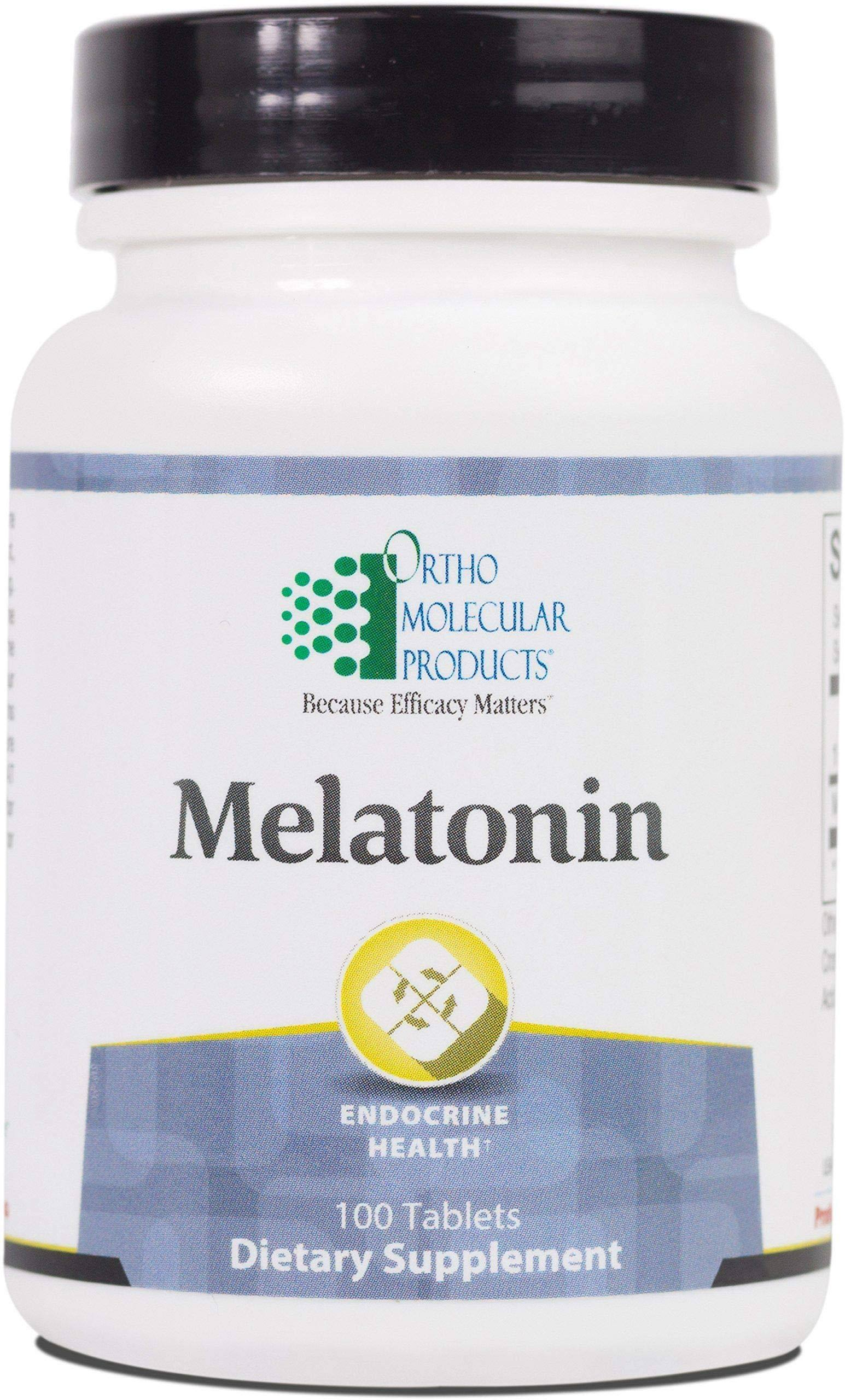 Ortho Molecular - Melatonin - 100 Tablets