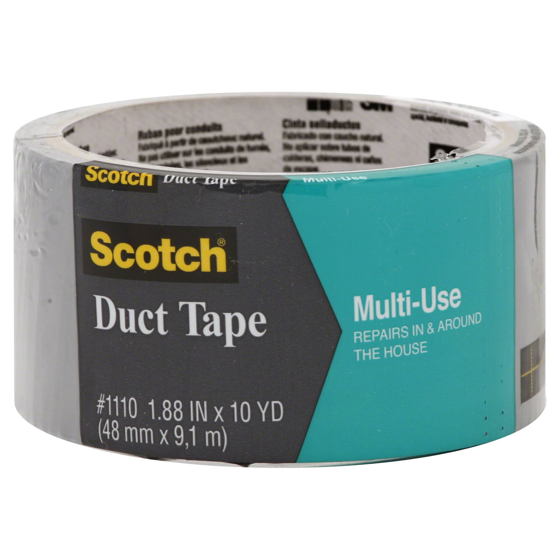 "Scotch 3M Multi Use Duct Tape - 1.88"" x 10yd"
