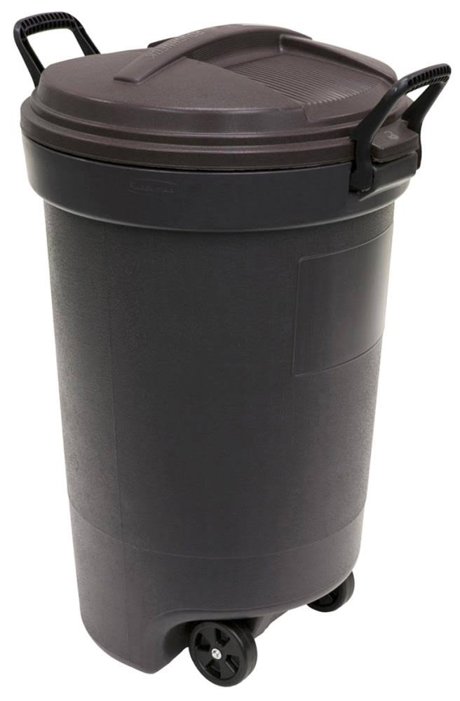United Plastics Kona Trash Container - 32 Gallon