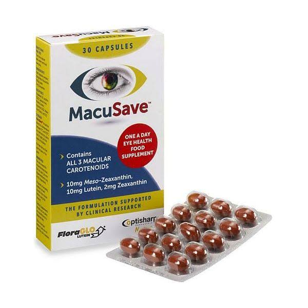 Eye Health Supplement, 30 Capsules (MacuSave)