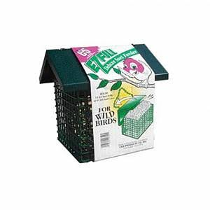 C and S Products Ez Fill Deluxe Triple Cake Suet Bird Feeder