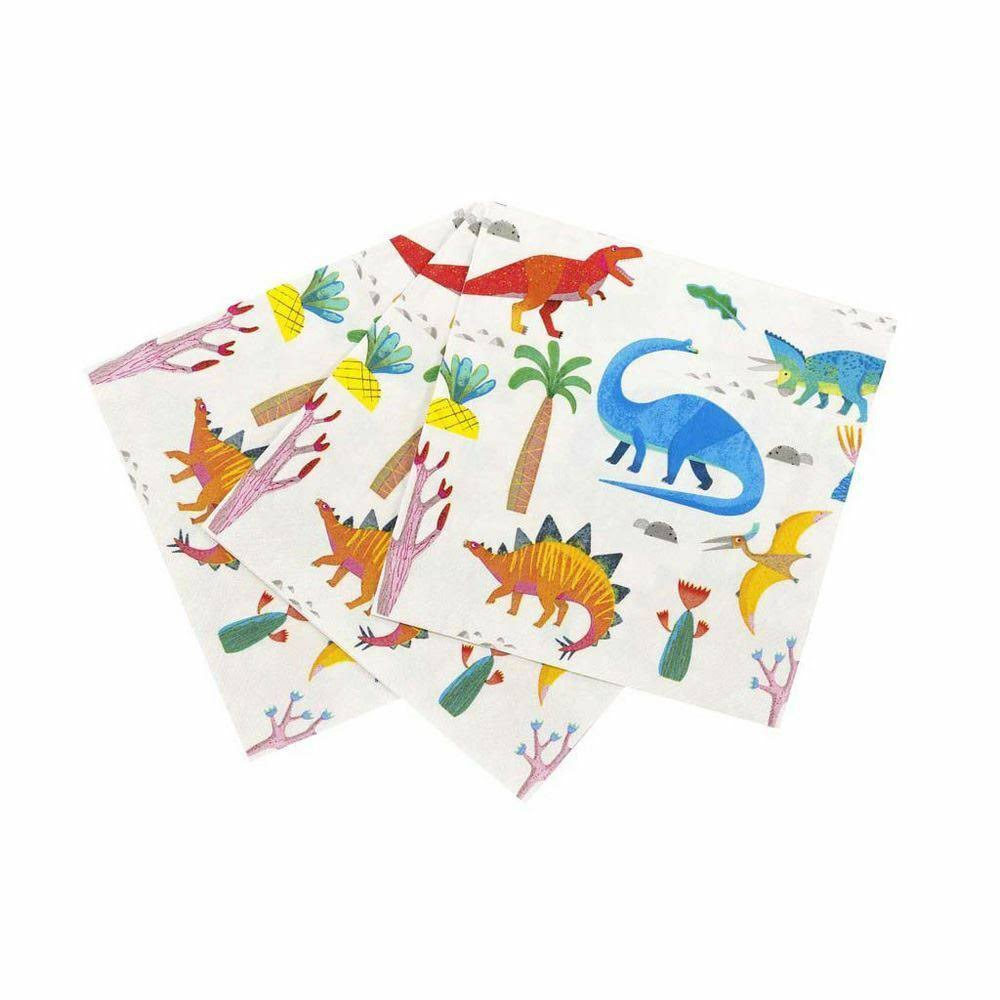Talking Tables Party Dinosaur Napkins