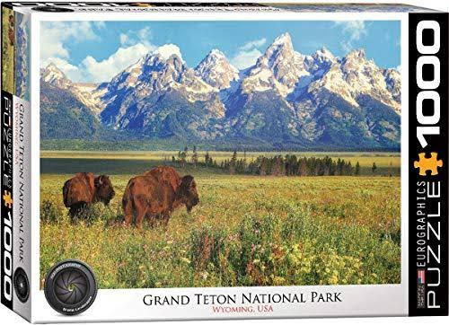 Eurographics Grand Teton National Park 1000-Piece Puzzle