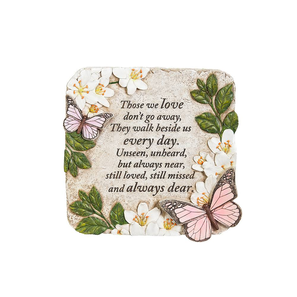 New Creative Memorial Stone, Those We Love Butterflies