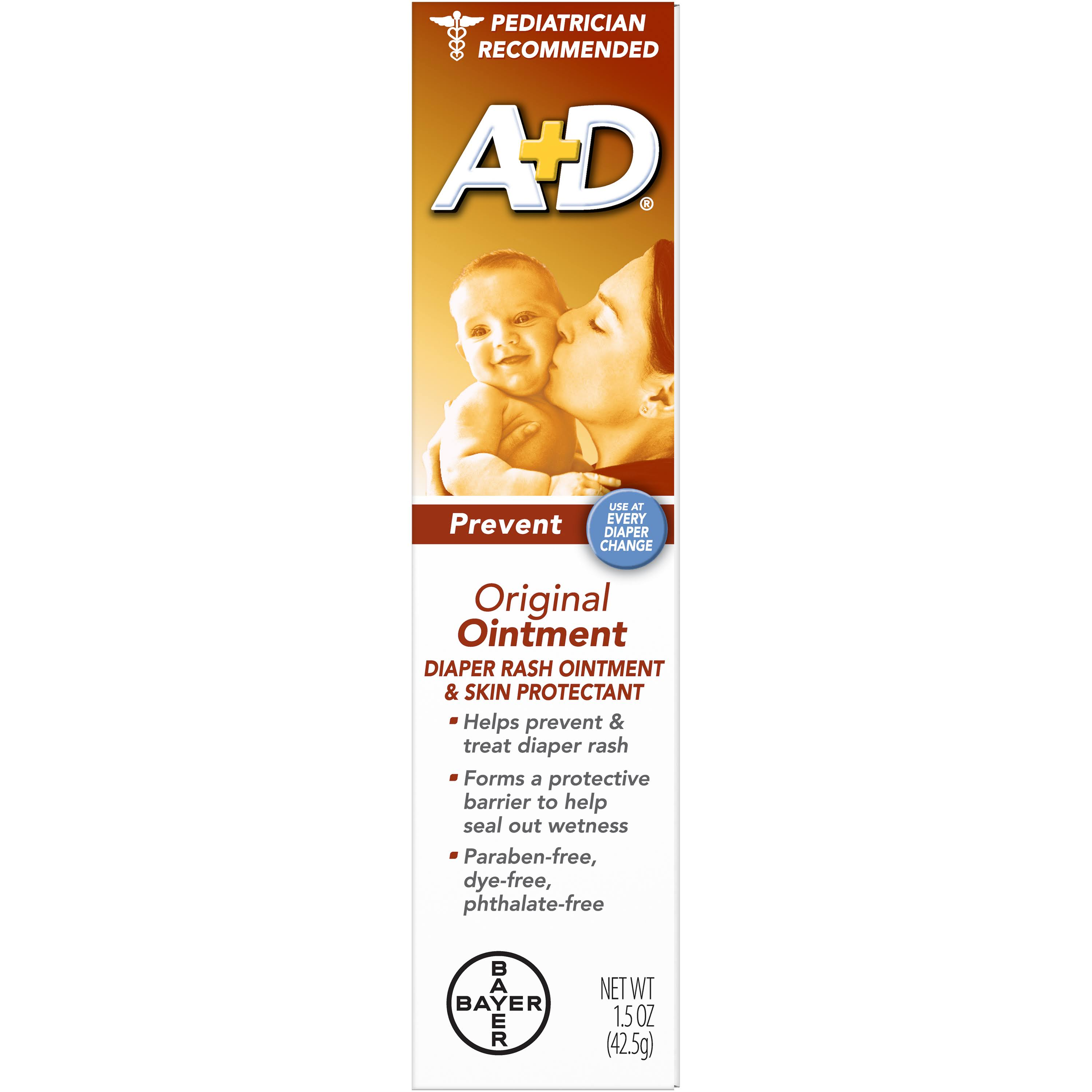 Bayer A+D Original Ointment - 1.5 oz