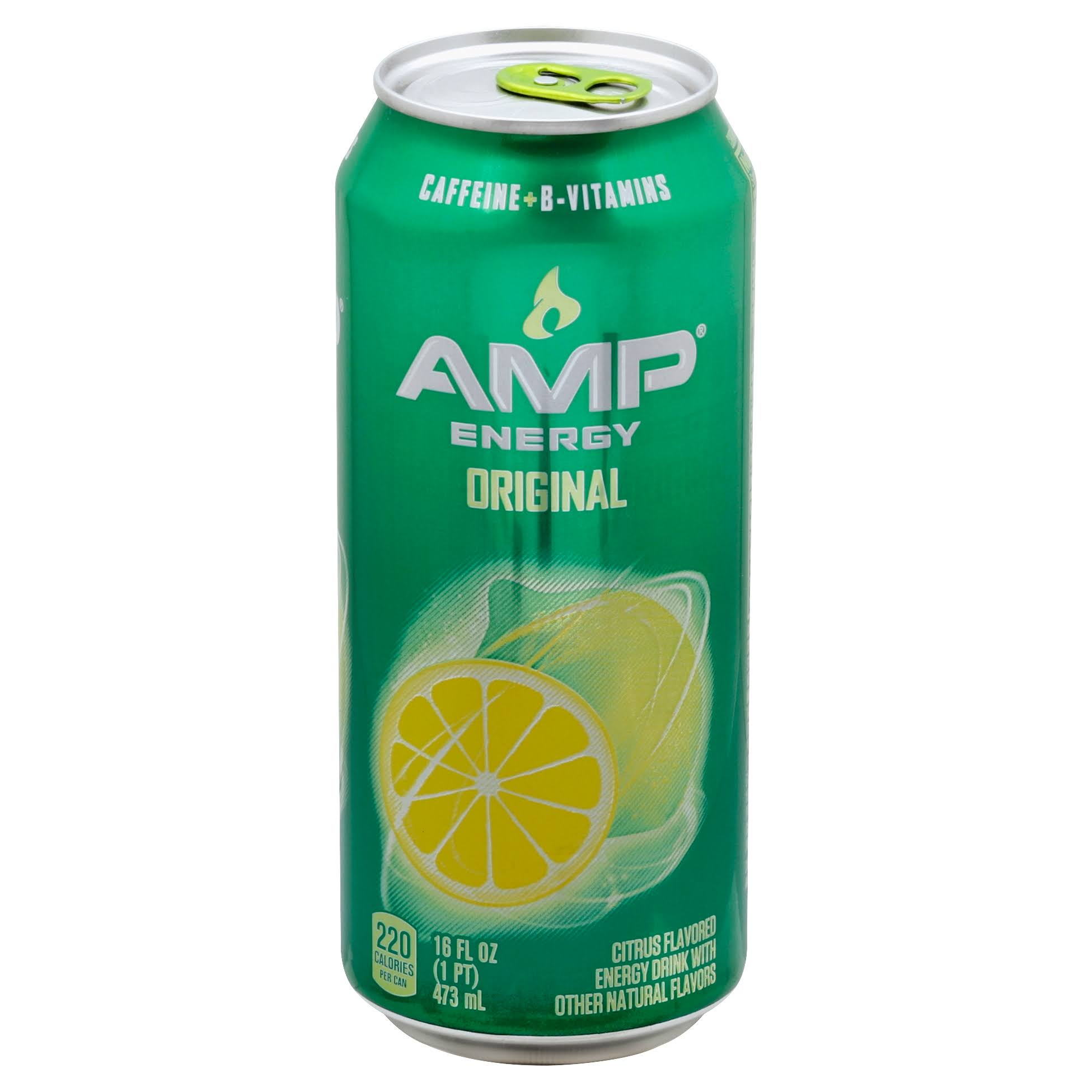 AMP Energy Drink, Original, Citrus Flavored - 16 fl oz