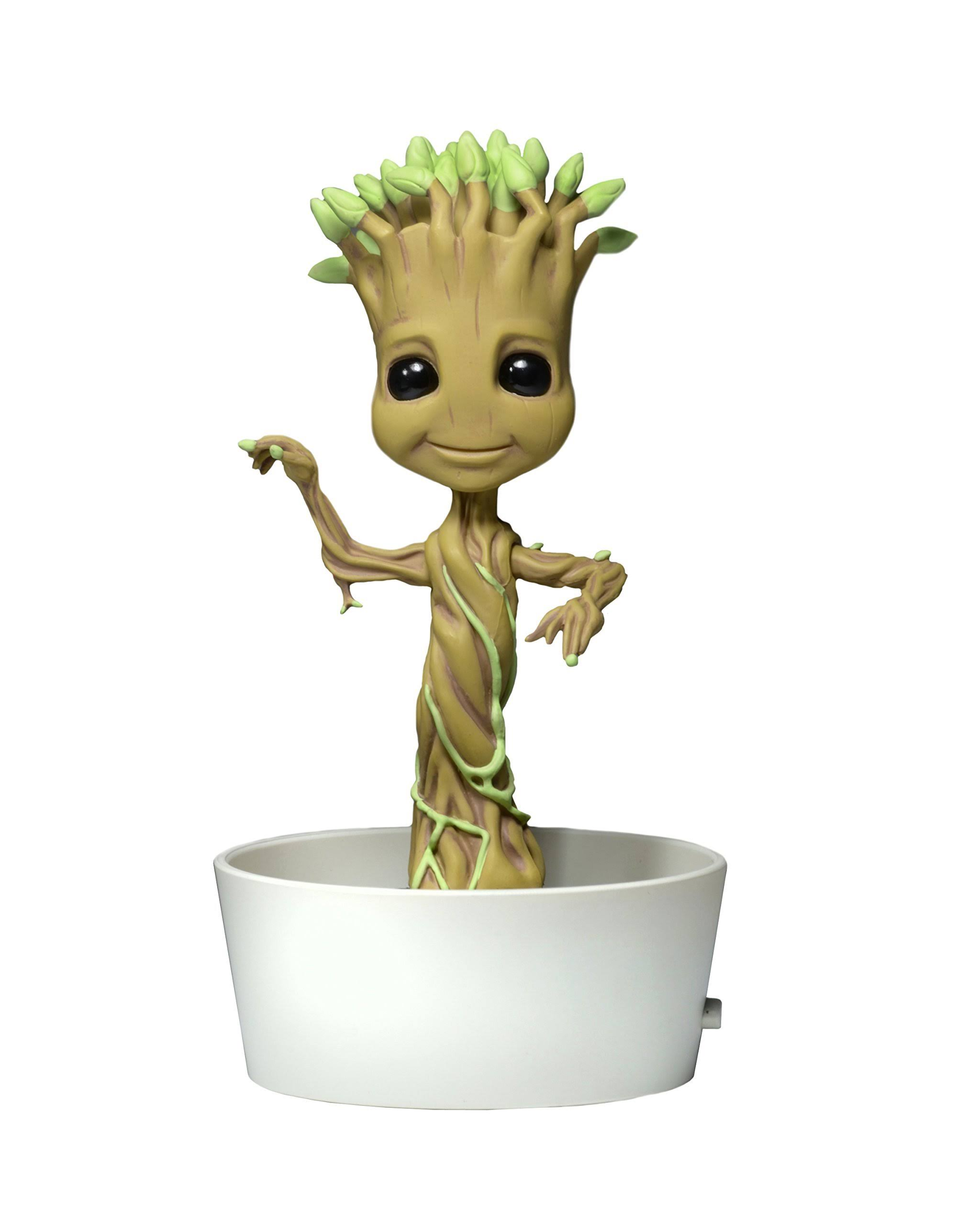 Neca Body Knocker Marvel Guardians of The Galaxy Dancing Potted Groot Action Figure Toy