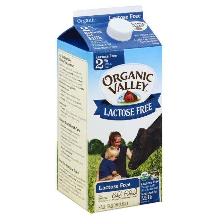 Organic Valley Milk - 1.89l