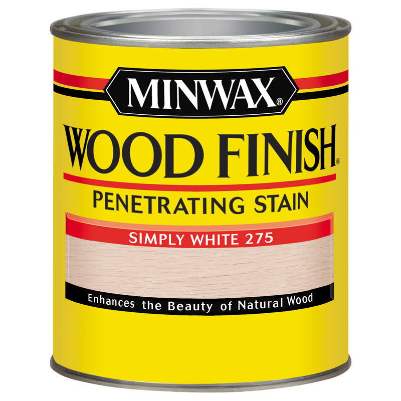 Minwax Wood Finish - Simply White, 1qt