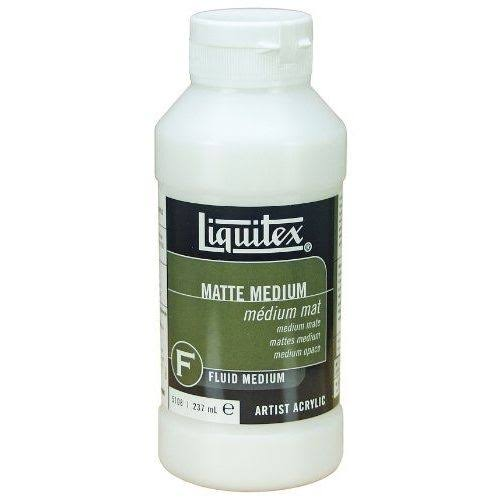 Liquitex Matt Artist Acrylic Fluid - Medium, 237ml