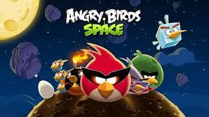 اللعبة الاسطورة :  للكمبيوترangry birds space pc  كاملة  باتش سيريال