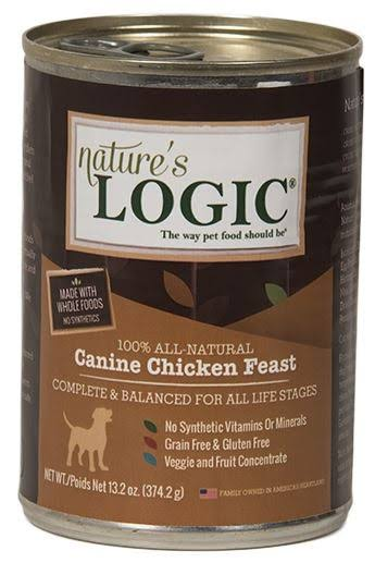 Nature's Logic Canned Food - Chicken, 374.2g