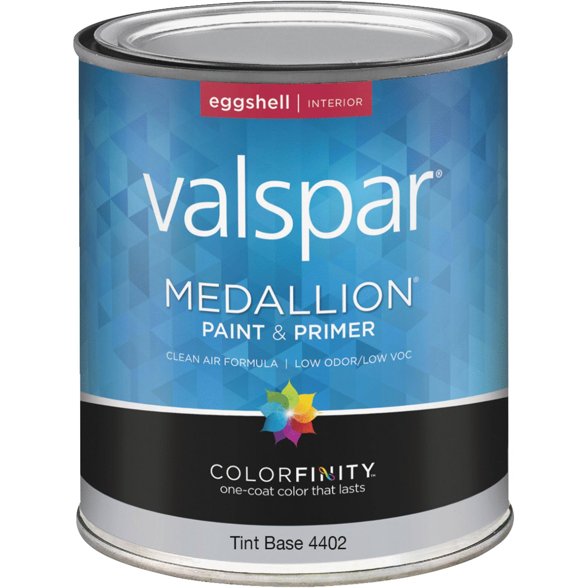 Valspar Tint Base Medallion Interior Acrylic Paint - Eggshell, 1 Quart