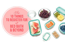 Bed Bath And Bey by 10 Things To Register For At Bed Bath U0026 Beyond Kitchn