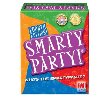 R and R Games 2008 Smarty Party 3rd Edition Board Game