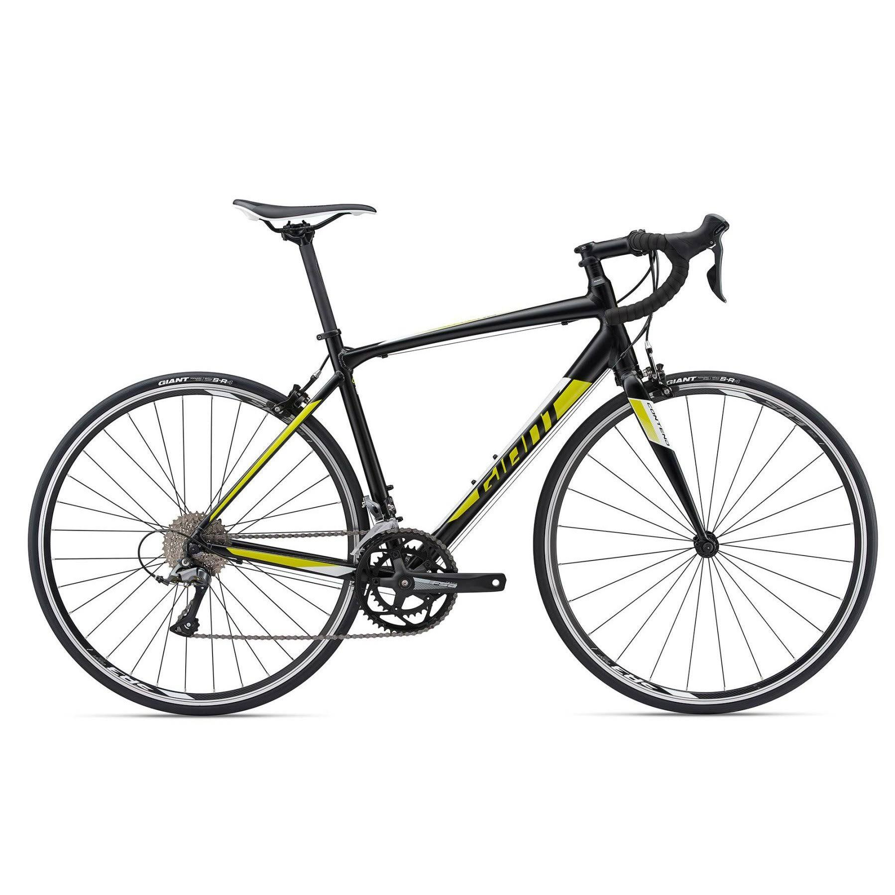 Giant 2018 Contend 3 Small Satin-black-yellow
