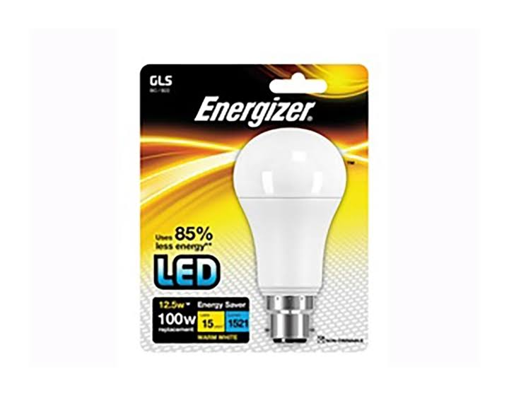 Energizer LED GLS 1521lm B22 Warm White BC 12.5W