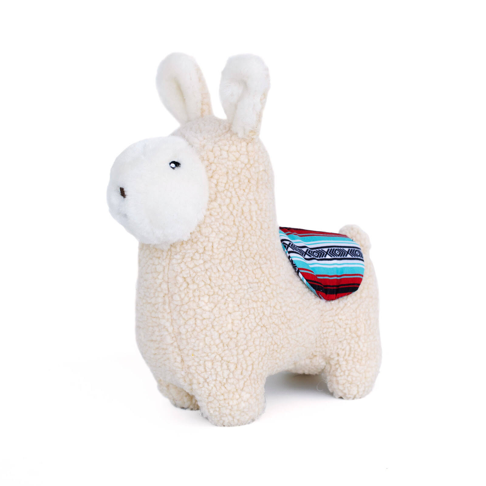 ZippyPaws Storybook Snugglerz Liam The Llama Plush Dog Toy