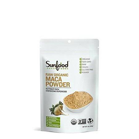 Sunfood Raw Organic Maca Powder - 4oz