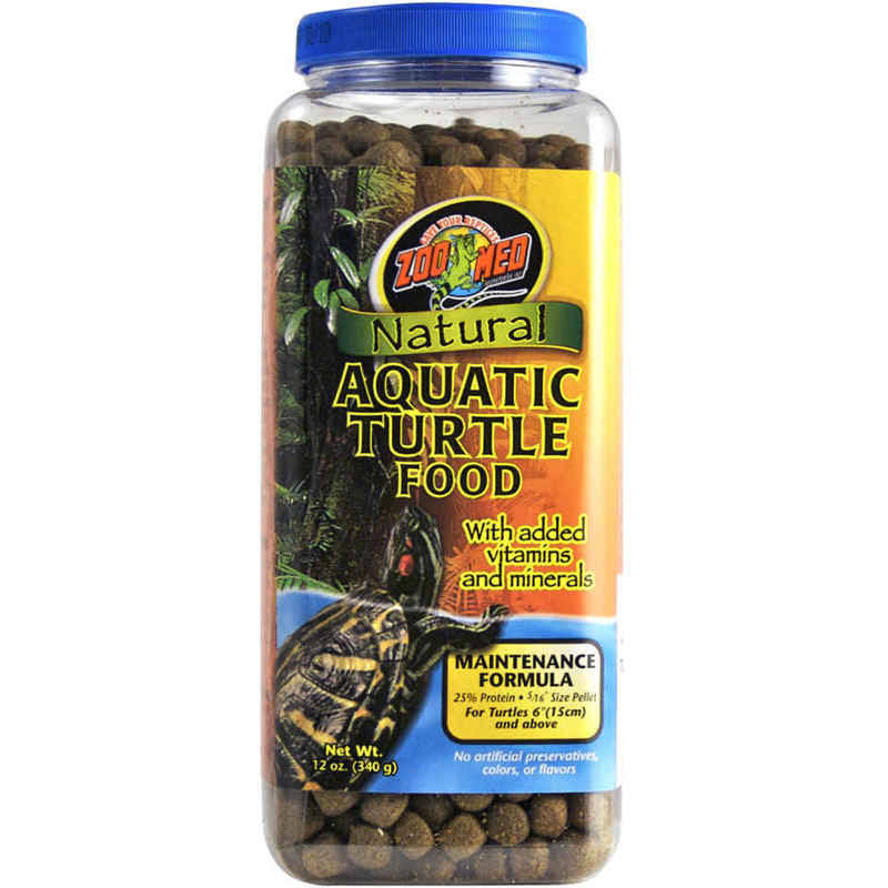 Zoo Med Natural Maintenance Formula Aquatic Turtle Food - 12oz