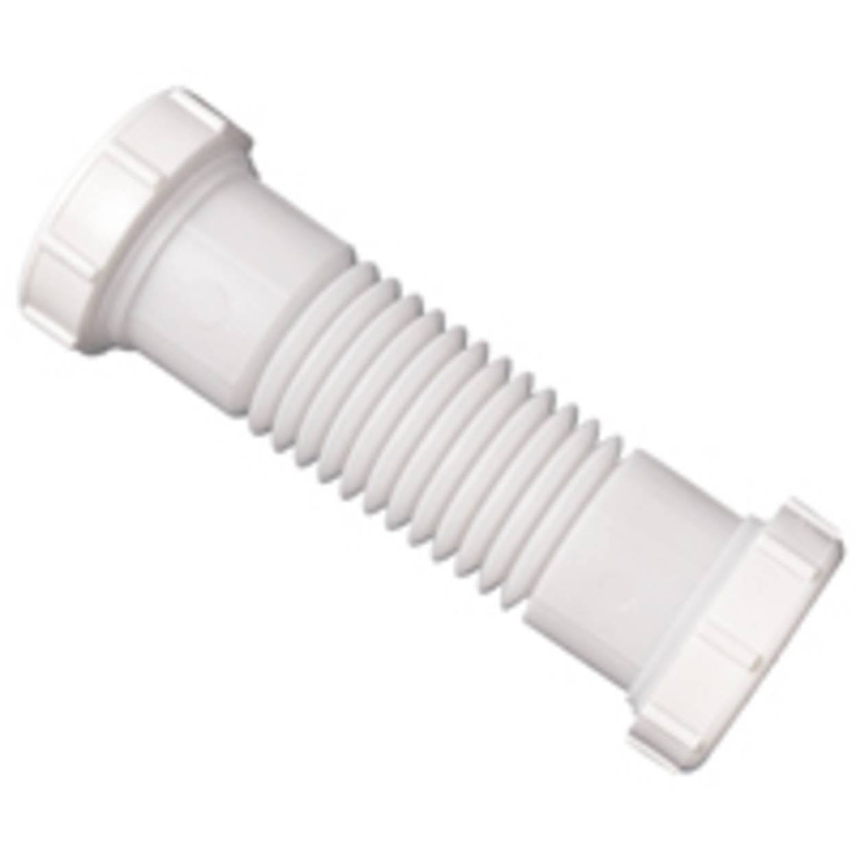 Plumb Pak PP21215 Double Sink Drain Coupling - White, 1-1/2""