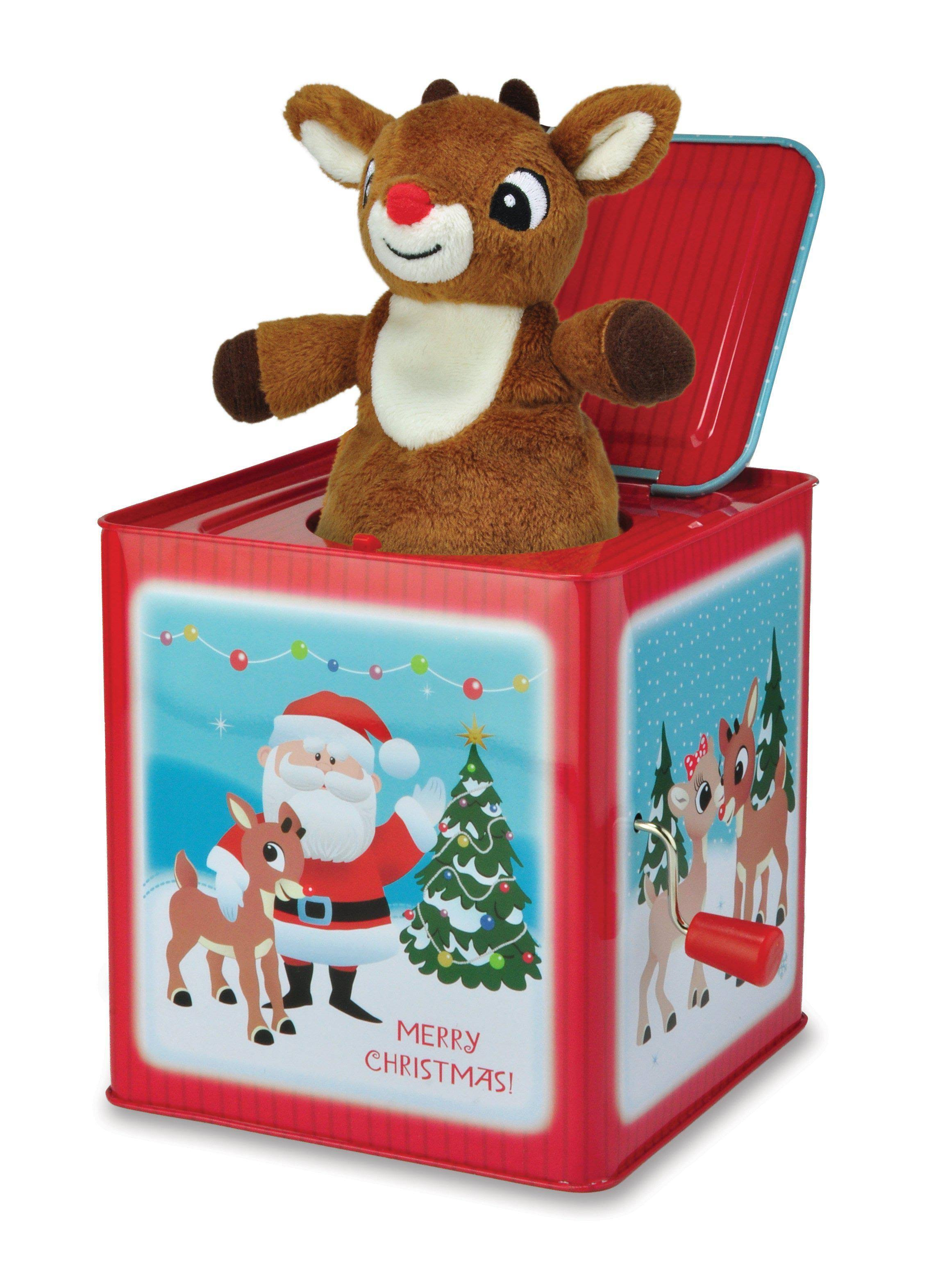 Kids Preferred Rudolph Jack In the Box Toy