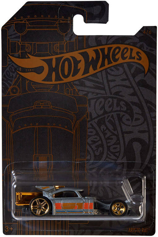 Hot Wheels Satin & Chrome Aristo Rat Die-Cast Car
