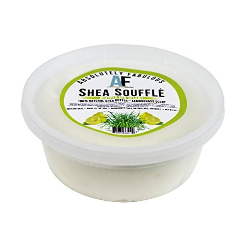 Revlon AF Shea Souffle Whipped and Creamy 100% Natural Shea Butter 8oz (Lemongrass)