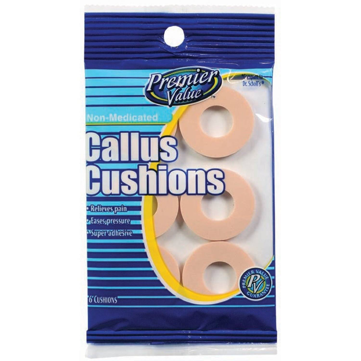 Premier Value Callus Cushions - 6ct