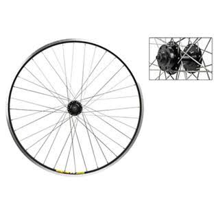 Wheel Master 700c Front Wheel - Quick-Release, 36H, Black