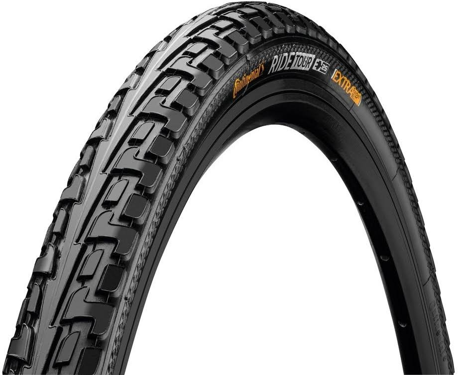 "Continental Tour Ride Wire Bead Tire - Black, 26"" x 1.75"""