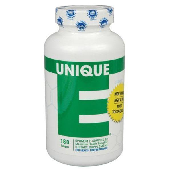 Unique E Mixed Tocopherols - 180 Count