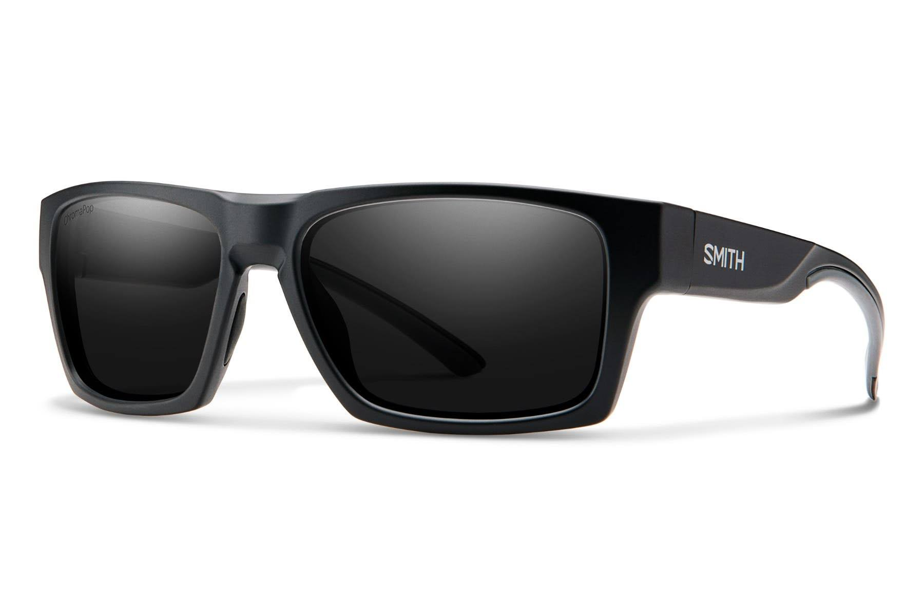 Smith Outlier 2 Chromapop Polarized Sunglasses - Matte Black/Polarized Black