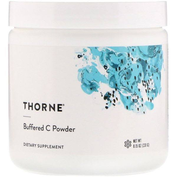 Thorne Research - Buffered Vitamin C Powder Dietary Supplement - 8oz