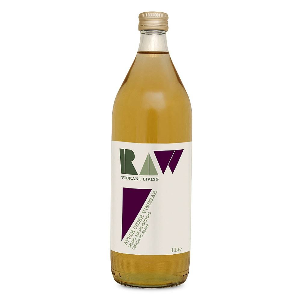 Raw Health Apple Cider Vinegar with The Mother Organic 1L