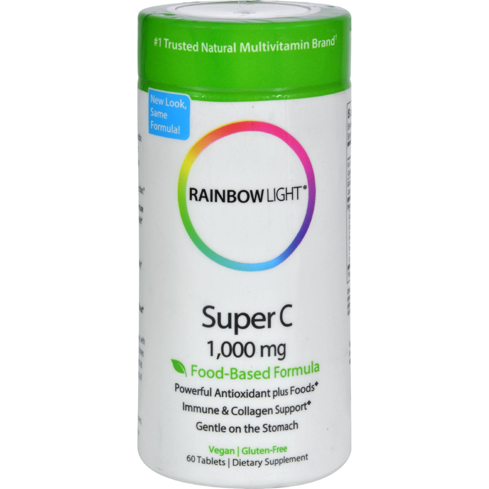 Rainbow Light Super C 1000mg Tablet - 60 Tablets