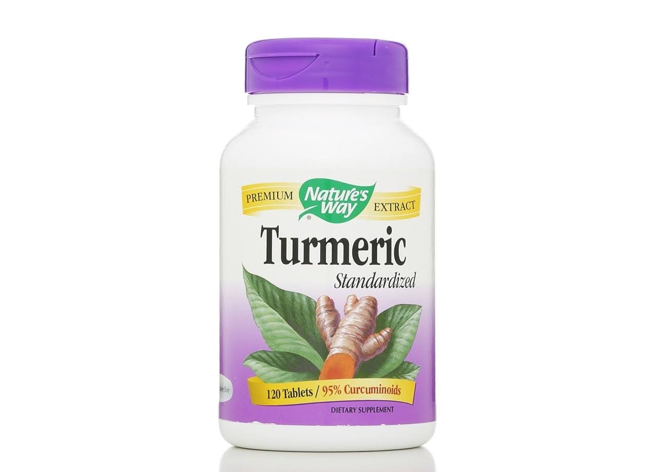 Nature's Way Turmeric Tablets - 120 Tablets