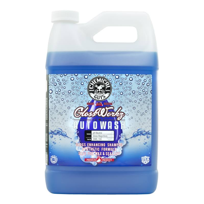 Chemical Guys Glossworkz Gloss Booster and Paintwork Cleanser - 1 Gallon