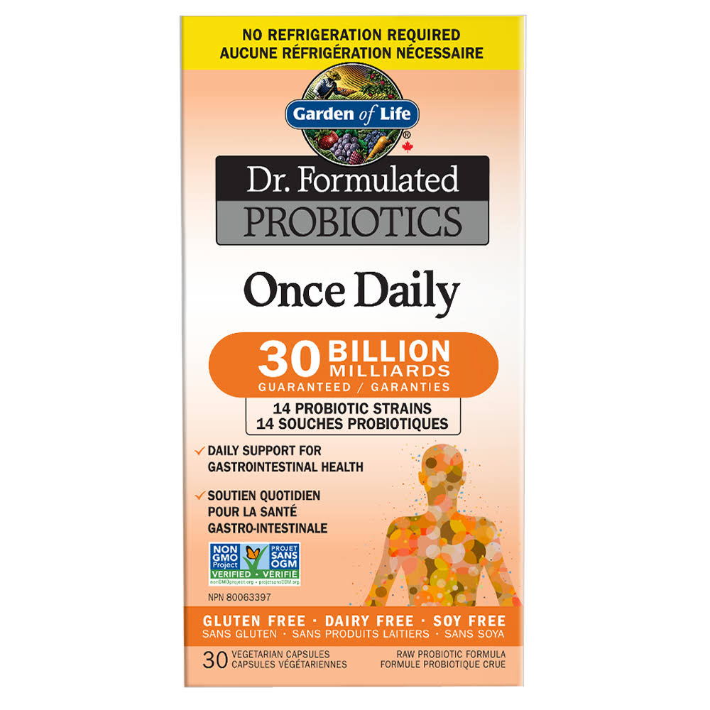 Dr Formulated Probiotics Once Daily Food Supplement Capsules - 30 Counts