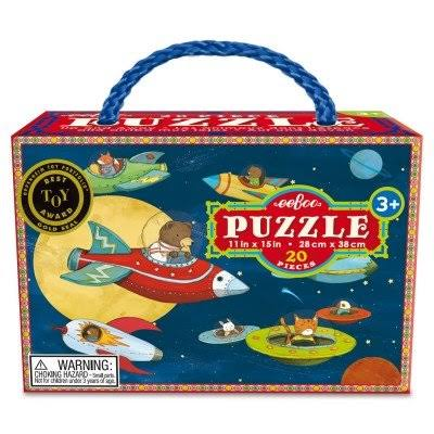 "Eeboo Puzzel Up And Away Puzzle - 11"" X 15"""