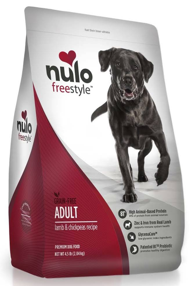 Nulo FreeStyle Grain Free Adult Dry Dog Food - Lamb & Chickpeas
