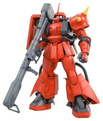 Bandai Hobby MS-06R-2 ZAKU II Johnny Ridden Custom Ver 2.0 Action Figure - Bandai MG